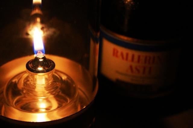 ランプ アルコール