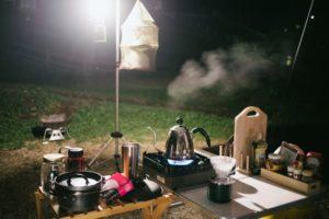 キャンプ テーブル キッチン 調味料 スパイス